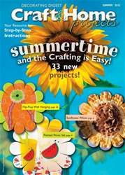Craft & Home Projects issue Summer 2012