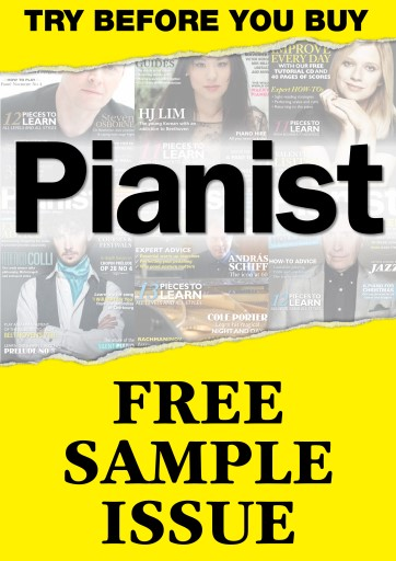 Pianist issue FREE SAMPLE Pianist