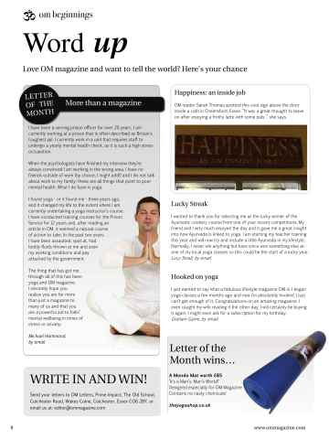 OM Yoga UK Magazine Preview 8
