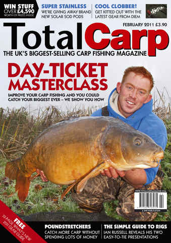 Total Carp issue February 2011