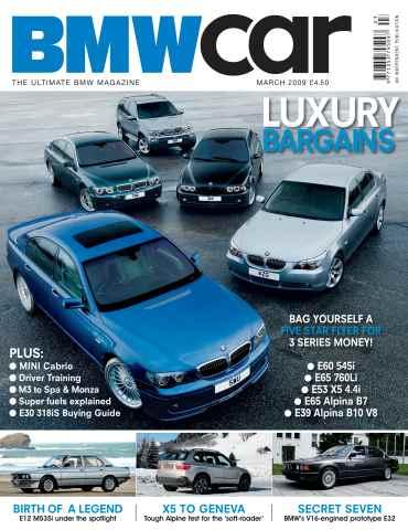 BMW Car issue March 2009