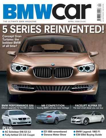 BMW Car issue April 2009