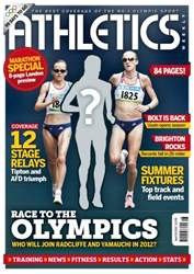 Athletics Weekly issue AW April 19 2012