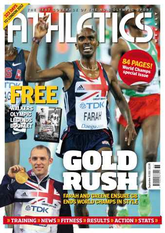 Athletics Weekly issue AW Sept 8 2011