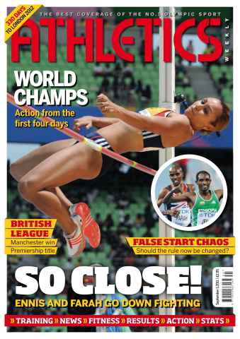 Athletics Weekly issue AW Sept 1 2011
