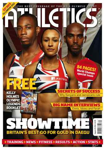 Athletics Weekly issue AW August 25 2011