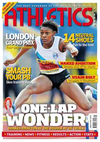 Athletics Weekly issue AW August 4 2011