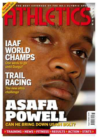 Athletics Weekly issue AW August 18 2011