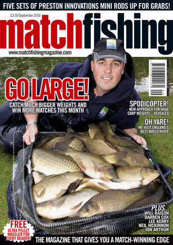 Match Fishing issue September 2010