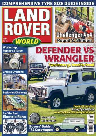 Landrover World issue Land Rover World July 2012