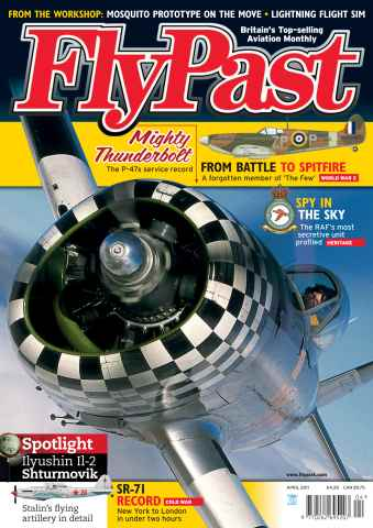 FlyPast issue April 2011 with supplement