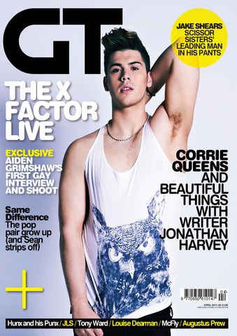 Gay Times issue April 2011