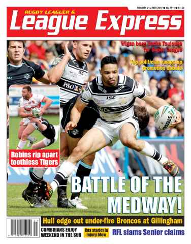 League Express issue 2811