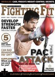 Fighting Fit issue October 2010