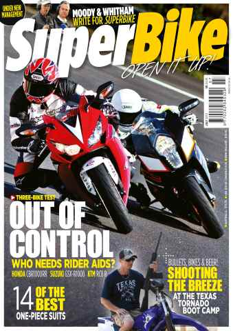 Superbike Magazine issue July 2012
