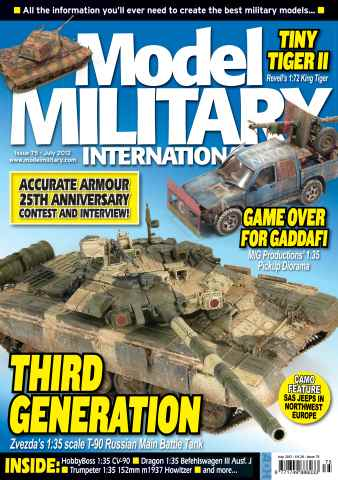 Model Military International issue 75