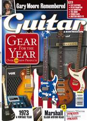 Guitar & Bass Magazine issue April 2011 Gear for the Year