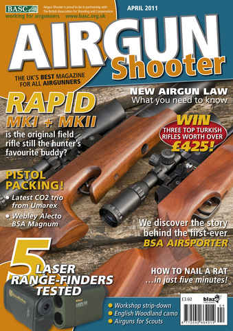Airgun Shooter issue April 2011