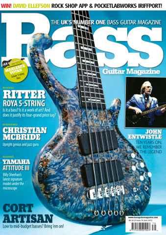 Bass Guitar issue 79 June 2012