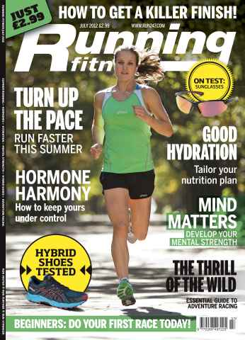 Running Fitness issue The Sprint Finish July 2012