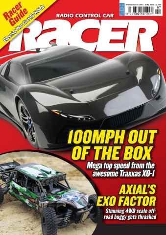 Radio Control Car Racer issue July 2012