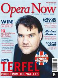 Opera Now issue Opera Now June 2012