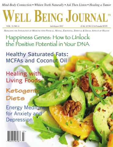 Well Being Journal issue July-August 2012
