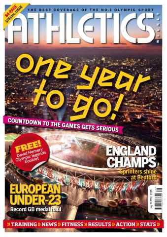 Athletics Weekly issue AW July 21 2011