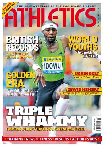 Athletics Weekly issue AW July 14 2011