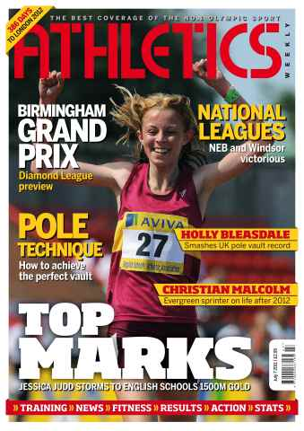 Athletics Weekly issue AW July 7 2011