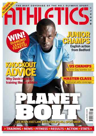 Athletics Weekly issue AW June 30 2011