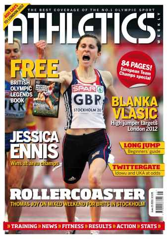 Athletics Weekly issue AW June 23 2011