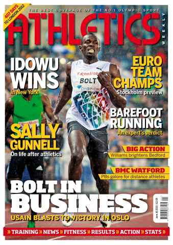 Athletics Weekly issue AW June 16 2011