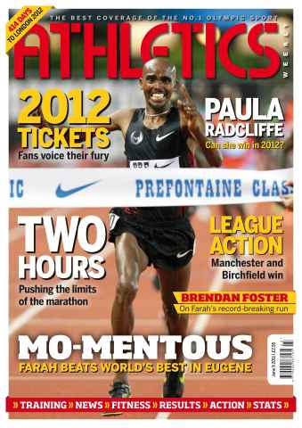 Athletics Weekly issue AW June 9 2011