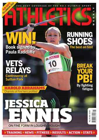 Athletics Weekly issue AW May 26 2011