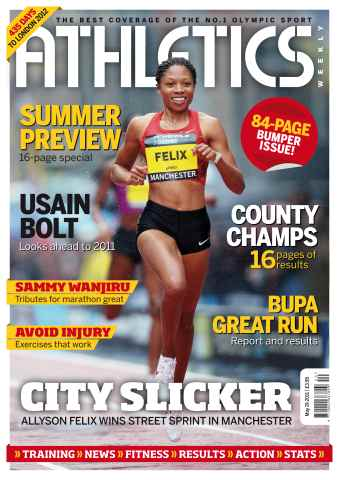 Athletics Weekly issue AW May 19 2011
