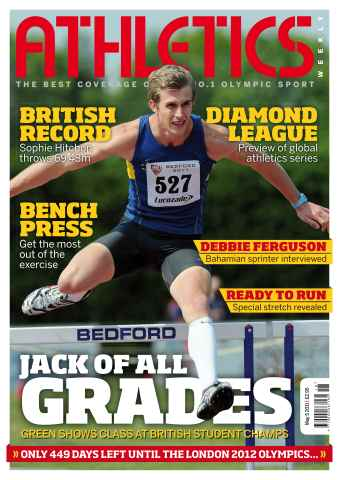 Athletics Weekly issue AW May 5 2011