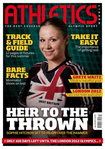 Athletics Weekly issue AW April 28 2011