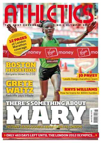 Athletics Weekly issue AW April 21 2011
