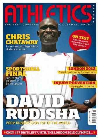 Athletics Weekly issue AW April 7 2011