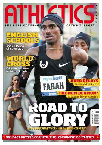 Athletics Weekly issue AW March 24 2011