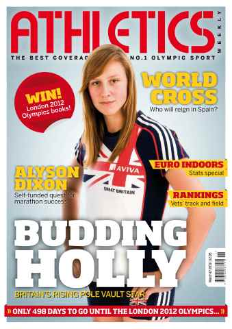 Athletics Weekly issue AW March 17 2011