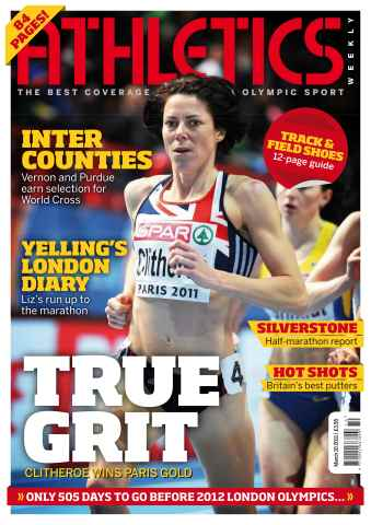 Athletics Weekly issue AW March 10 2011