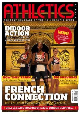 Athletics Weekly issue AW March 3 2011