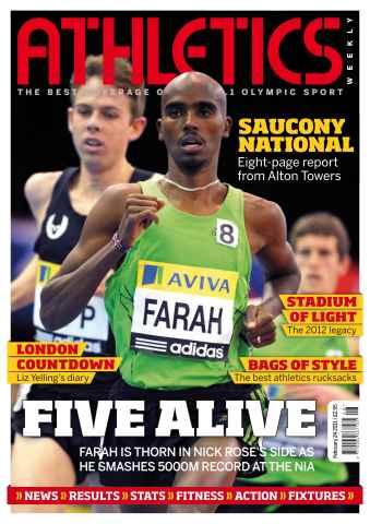 Athletics Weekly issue AW Feb 24 2011