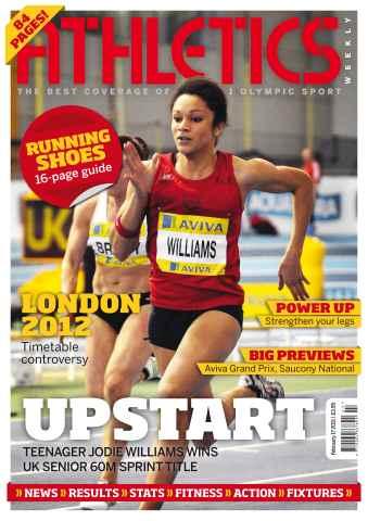 Athletics Weekly issue AW Feb 17 2011