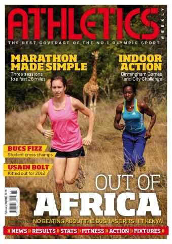 Athletics Weekly issue AW Feb 10 2011