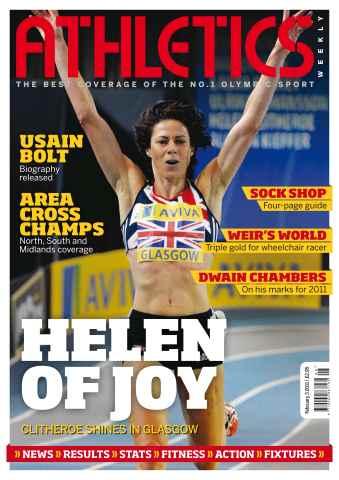 Athletics Weekly issue AW Feb 3 2011
