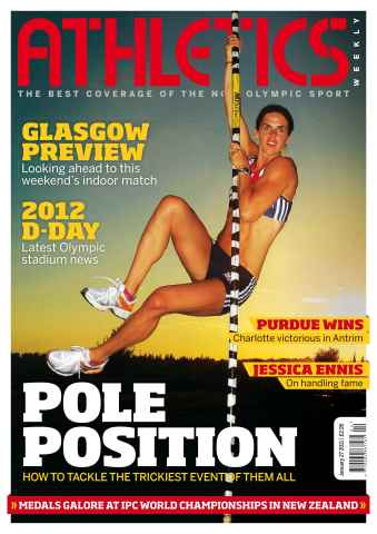Athletics Weekly issue AW Jan 27 2011