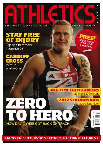 Athletics Weekly issue AW Jan 20 2011